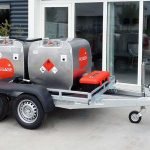 Remorque Pegase carburant aviation 900 litres