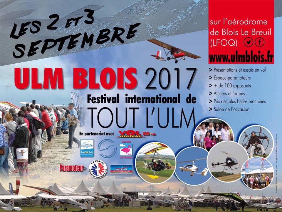 Festival ULM Blois Septembre 2017