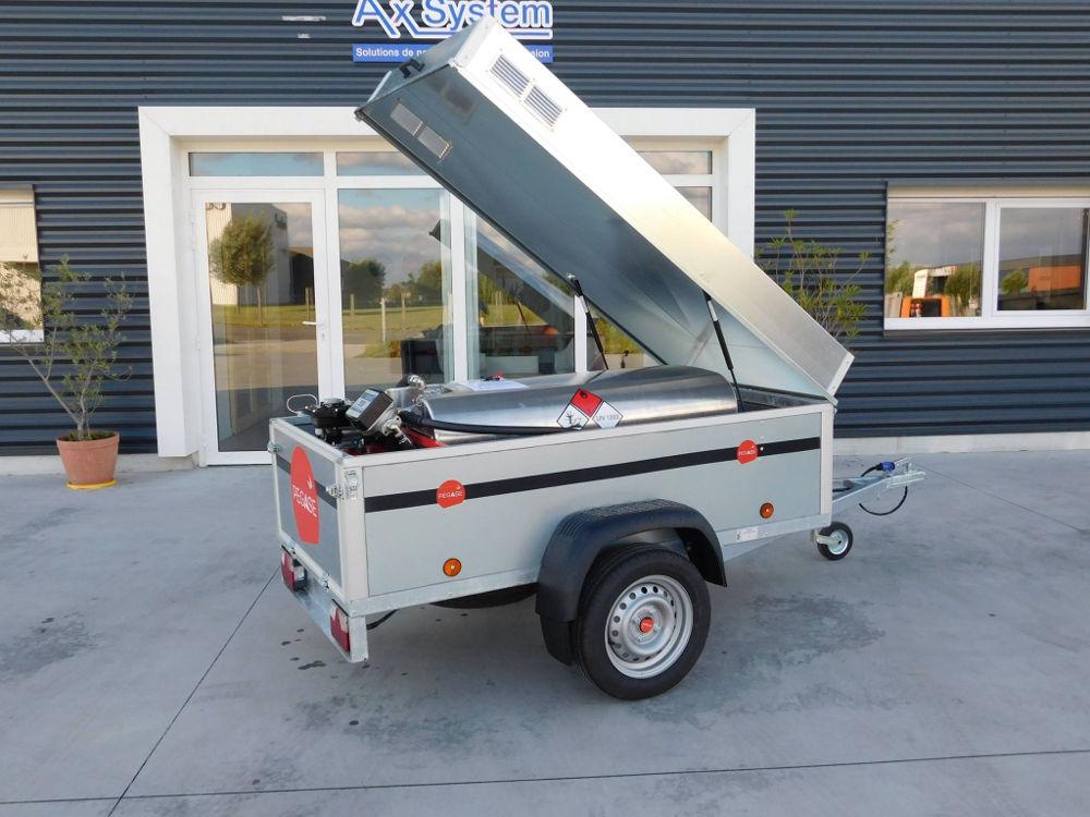 Remorque GRV Fill'n DRIVE 320 litres fermée