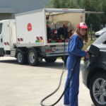 skid de distribution carburant MID