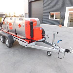 remorque GRV fill'n drive 1350 litres Pegase Carburant