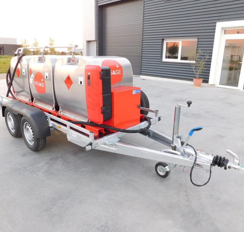 remorque GRV fill 'n drive 1350 litres Pegase Carburant