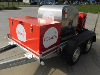 Remorque Pegase bi carburant