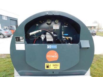 Remorque 2000 litres Pegase carburant