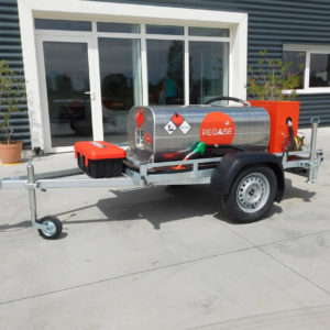 Remorque essence Pegase ouverte 320 litres