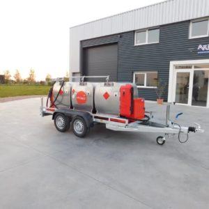 Remorque citerne gasoil 1350 litres