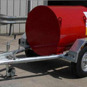 Remorque citerne gasoil fuelstore 500 l Pegase carburant