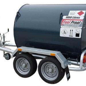 Remorque citerne 1000 litres double essieu