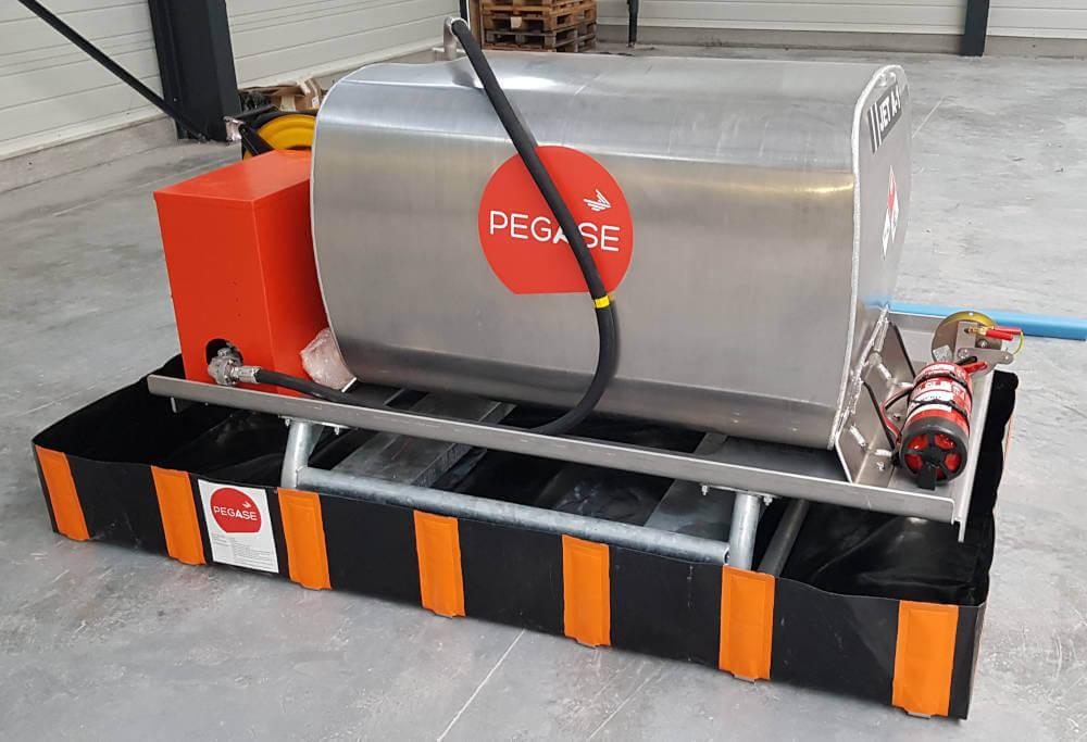 Cuve ATEX pour stockage de JetA1
